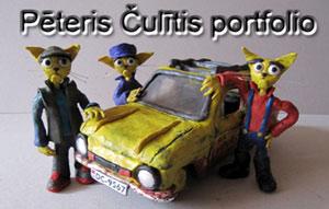 Pēteris Čulītis - portfolio